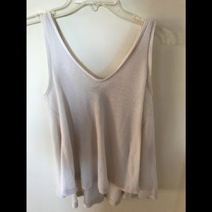 Soft cotton/polyester top